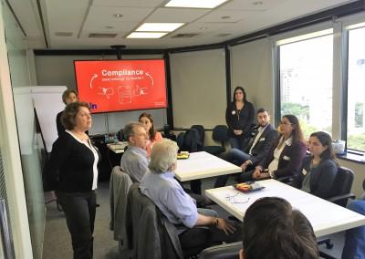 Workideas para entendimento do Compliance e cocriação de soluções de comunicação realizado em parceria com CDN com clientes de áreas e hierarquias diversas