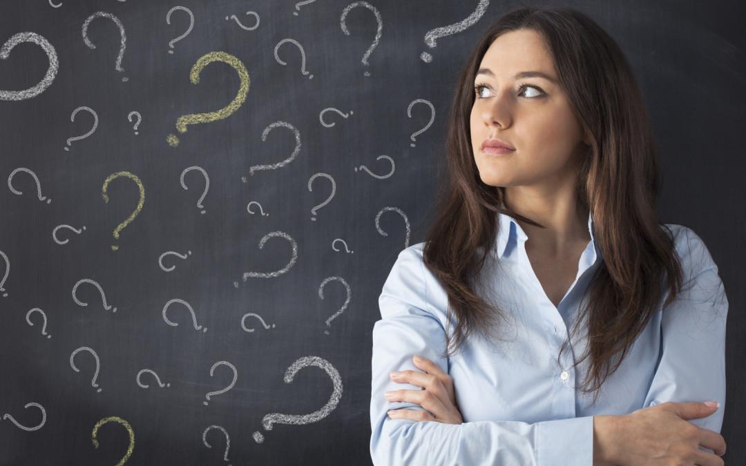 Se você fizer a pergunta errada não chegará à resposta certa